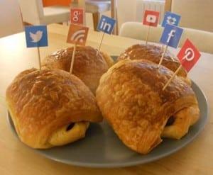 petit déjeuner réseaux sociaux